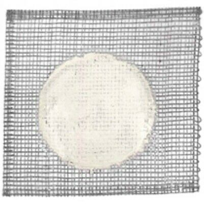 4 x Livingstone Wire Gauze 150 mm With ceramic Center Each Inch POLYBAG)