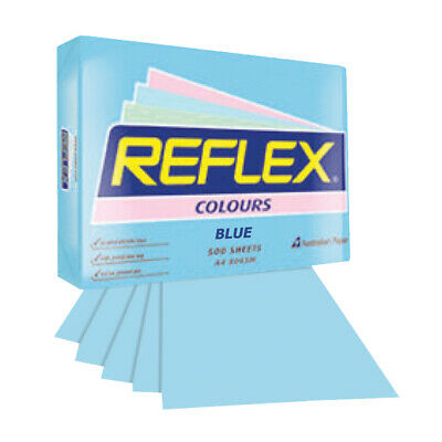 Reflex Colours Copy Paper A4 Blue 80Gsm 500 Sheets/Ream
