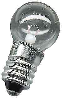 5 x  Screw Type Torch Globes 6.2   Volt @0.3amps S3996 Each