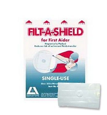 Filt-A-Shield Resuscitation Face Shield Ind Packed 100 per Box
