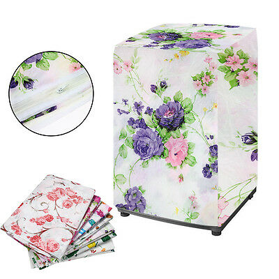 Beauty Waterproof Washing Machine Zippered Top Dust Cover Protection Durable AB