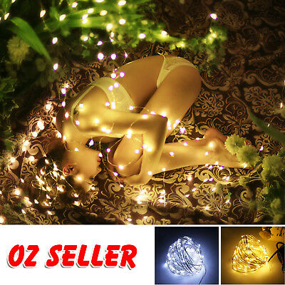 20/40/50/100 Battery LED String Fairy Lights Indoor/Outdoor Xmas Christmas Party