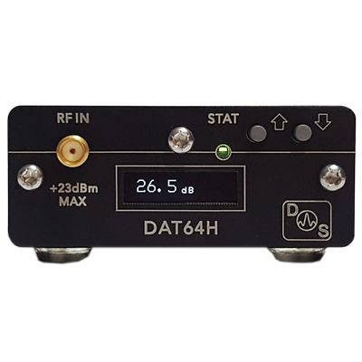 12GHz Digital Microwave Step Attenuator - 0 to 63dB (DAT64H) - USB