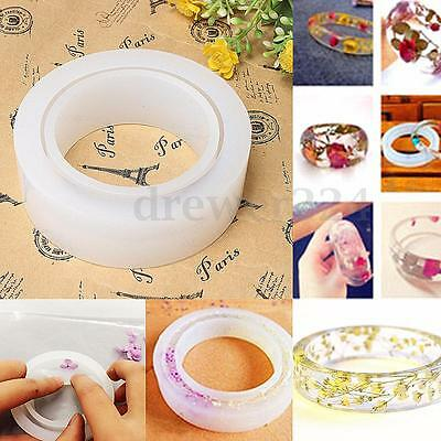Silicone Jewelry Making Mould Tools DIY Ring Bangle Bracelet Pendant Resin Mold