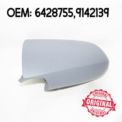 Left Wing Mirror Cover Casing Primed For Opel Vauxhall Zafira 99 - 05
