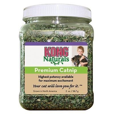 KONG PREMIUM NATURAL CATNIP cat kitten refill natural play toy entertain 9811