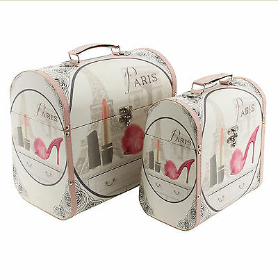 Vanity/Luggage Storage Cases in 2 Sizes - FANTASTIC CHRISTMAS GIFT!!