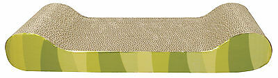 CATIT PATTERNED SCRATCHING BOARD WITH CATNIP LOUNGE DESIGN cat-it cat kitten