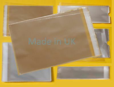 Clear Comic Cello Display Bags - Cellophane Display Protector Bag for Magazines