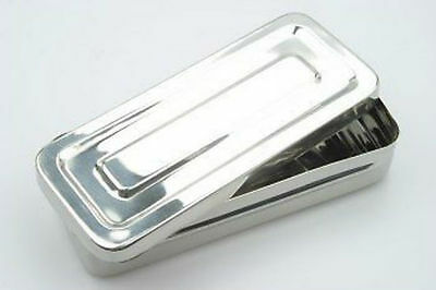 Stainless Steel Box to store Body Piercing Tools & Jewellery New CE
