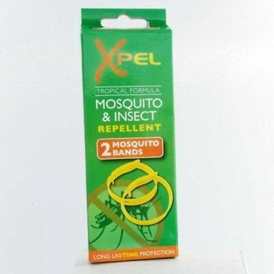 Xpel 4x Adult Mosquito Bands (Deet Free & Long Lasting Protection)