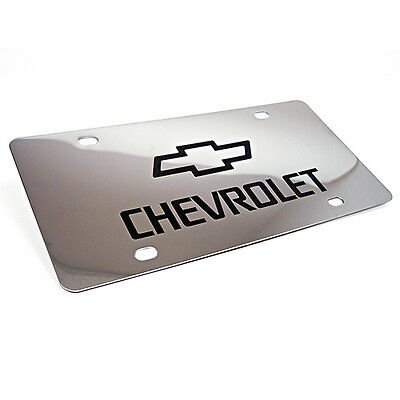Polished Stainless Steel License Plate - Perfect for use with CerMark!
