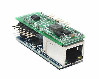 Ethernet web IP LAN Internet remote temperature thermometer SNMP humidity module