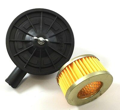 1/2'' Male Pipe Thread Air Compressor Pump Intake Filter With Filter Element