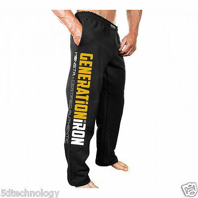 Generation Iron (Official Licensed) Sweatpants  ~  Monsta Clothing Co...