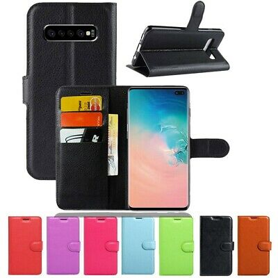 Wallet Leather Flip Case Cover Samsung Galaxy S6 S7 Edge S8 S9 S10 Plus S10e 5G