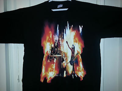 "Kiss ""rocks Toronto I Was There"" 2000 Tour Shirt Men's Xxl - Rare"