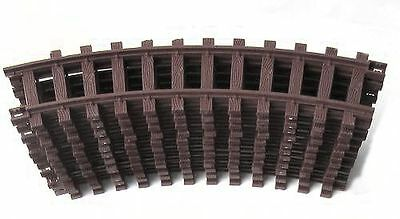 Train 12 Plastic Track, brown, bent, G Scale, for LGB