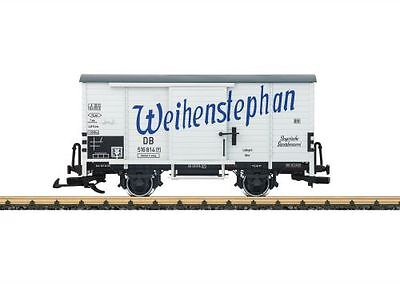 LGB Covered Goods Wagon Beer truck Weihenstephan G Scale