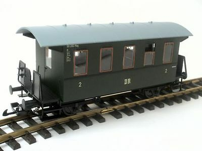 Piko Passenger car, converted from Zenner on track II (64mm). for LGB Clutch