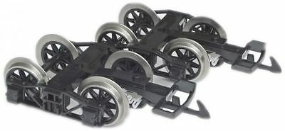 Zenner 2 Bogies with stainless steel-wheels for Conversion 4 axle LGB - dare to