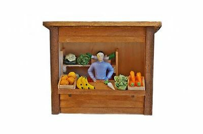 Zenner Fruit stand From Wood, G Scale Garden railway IIm