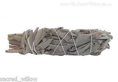 White Sage Smudge Stick Medium 13cm cleanse burn wicca