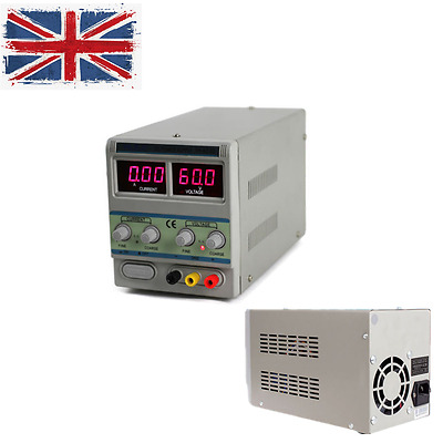 WEP 603D DC Power Supply 60V 3A Dual LED Digital Adjustable Bench Power Supply