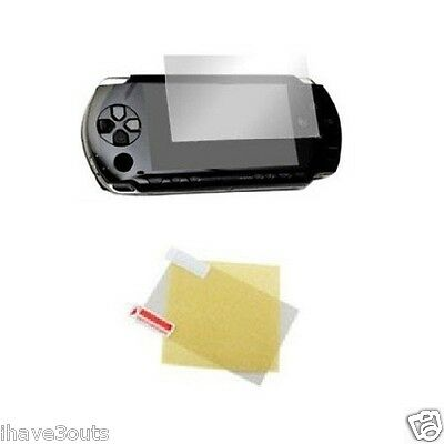 Screen Protector + Cleaning Cloth Sony PSP 1000 2000 3000 Fat Phat & Slim Series