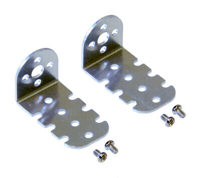 Pololu 15.5D mm Metal Gearmotor Bracket Pair 1599