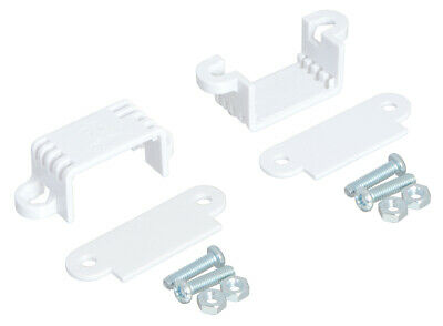 Pololu Mini Plastic Gearmotor Bracket Pair - Wide 2680
