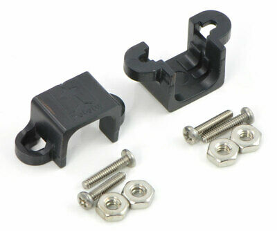 Pololu Micro Metal Gearmotor Bracket Pair - Black 989