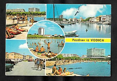 Posted 1978 Multiviews of Vodice, Croatia