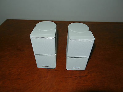 "BOSE JEWEL CUBE SPEAKERS ""Genuine Made By Bose"""