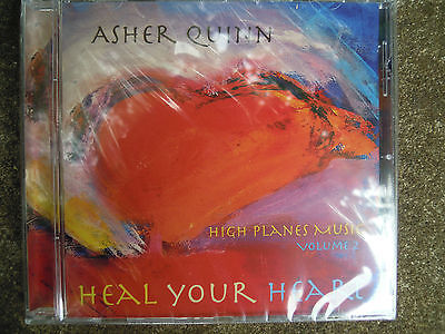 Healing Your Heart Asher Quin CD new High Planes Music Vol 2