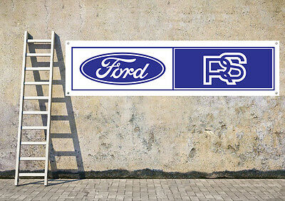 FORD RS workshop, garage, office or showroom pvc banner