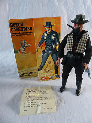 Marx / Gabriel Lone Ranger - Butch Cavendish Action Figure in Box
