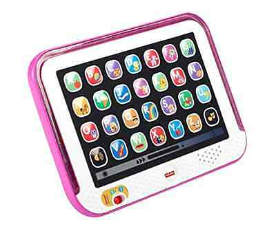 Fisher-Price Pink Tablet Baby Girl Learning Toy Word Music Developmental Sound