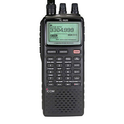 ICOM IC-R20 Wide Band-ALLMode Receiver 150kHz-3305MHz UNBLOCKED !!
