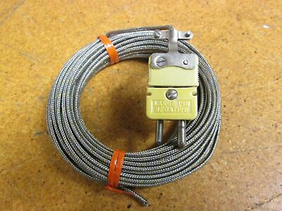 Omega Thermocouple Connector Large Pin Negative Two Pin New Old Stock