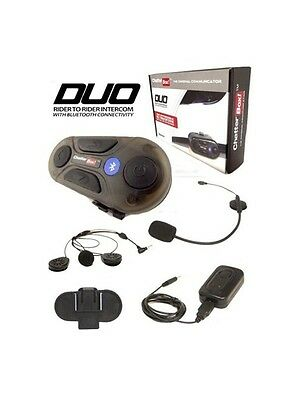 Chatterbox Duo Hands Free Bluetooth Intercom Microphone For Motorcycle Helmets