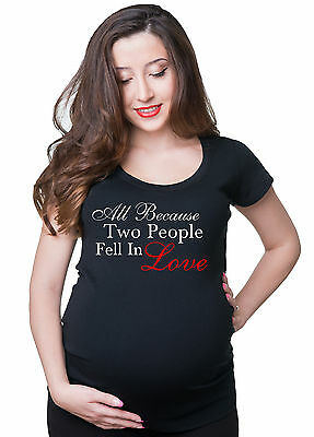 Pregnancy maternity Love T-shirt Gift for future mommy Pregnancy Tee