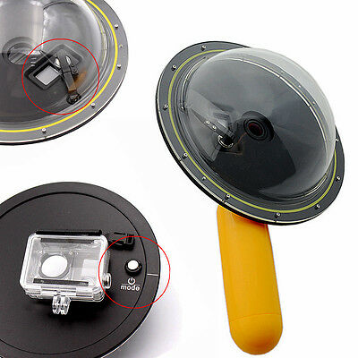 Dome Port Lens Cover Underwater Diving Photography for GoPro Hero 4 3 3+ Camera