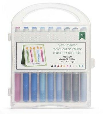 American Crafts 62705 Extreme Value Pack-Pen Set 18 Piece Glitter Markers (With