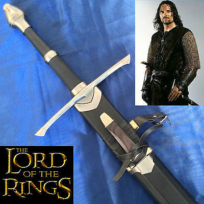 Lord of the Rings Aragorn Strider Rangers Sword & Scabbard & Knife
