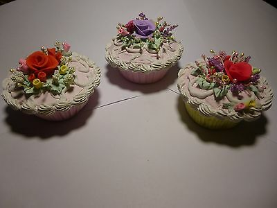 Collection of hand made cupcakes - Artificial foods, staging