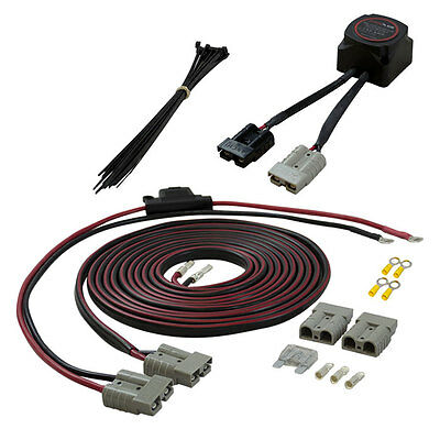 KICKASS Dual Battery Wiring Kit 140 Amp 12V Isolator + 50A Anderson + Wiring Kit