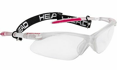 Racquetball Squash Goggles Eyeguard HEAD Power Icon Pro PL (Pink)