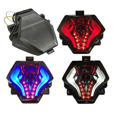 Motorcycle LED Tail Light Brake Turn Signals Taillight For Yamaha R3 R25 MT07