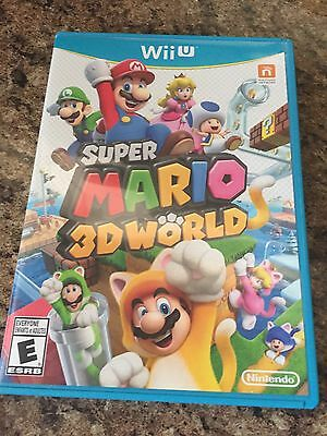 Super Mario 3D World Nintendo Wii U Complete TESTED Works Game NG3